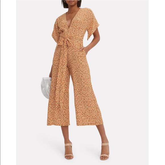 3541066f333c Faithfull The Brand Cedric Jumpsuit- Tan Floral